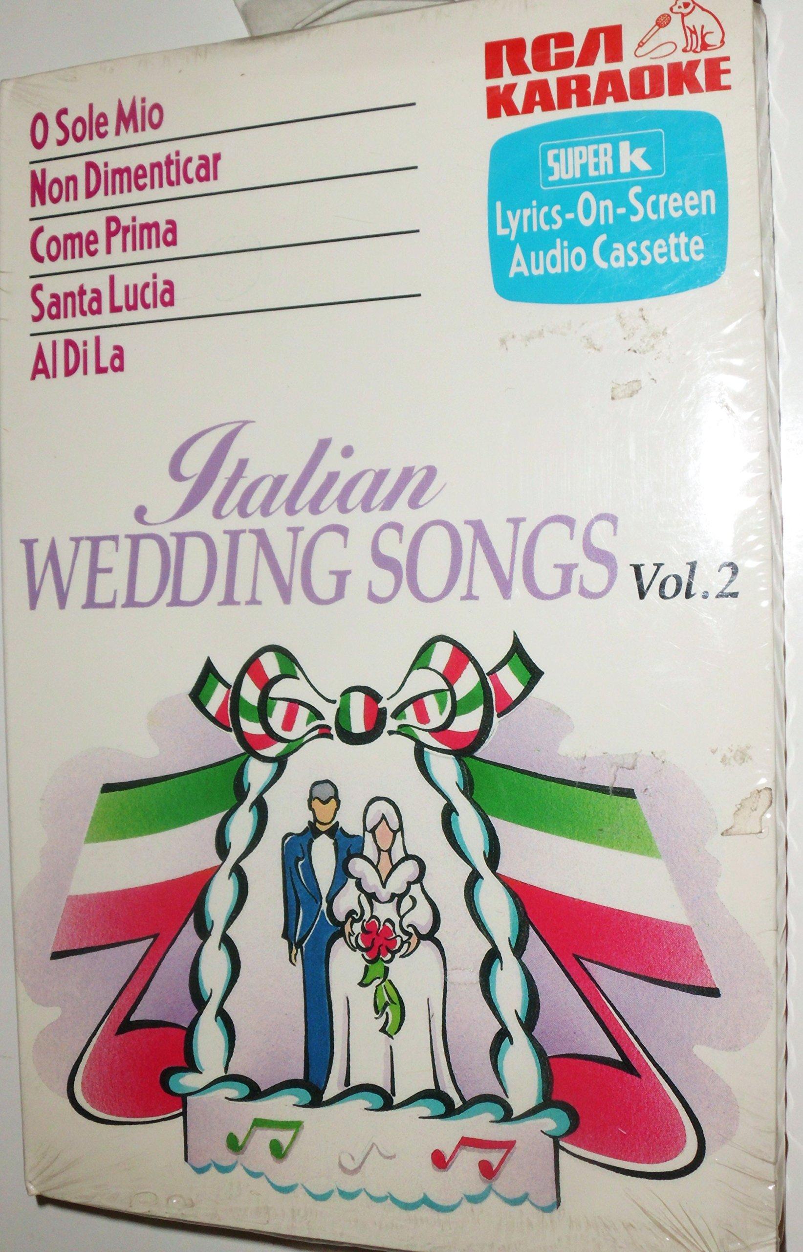 Karaoke, Italian Wedding Songs 2 by