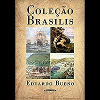 Box Coleção Brasilis: 4 livros – A viagem do descobrimento; Náufragos, traficantes e degredados; Capitães do Brasil e A coroa, a cruz e a espada