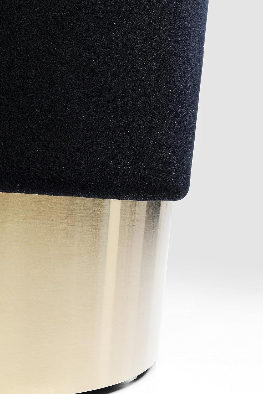 Poliestere /Ø35 Nero kare design Sgabello