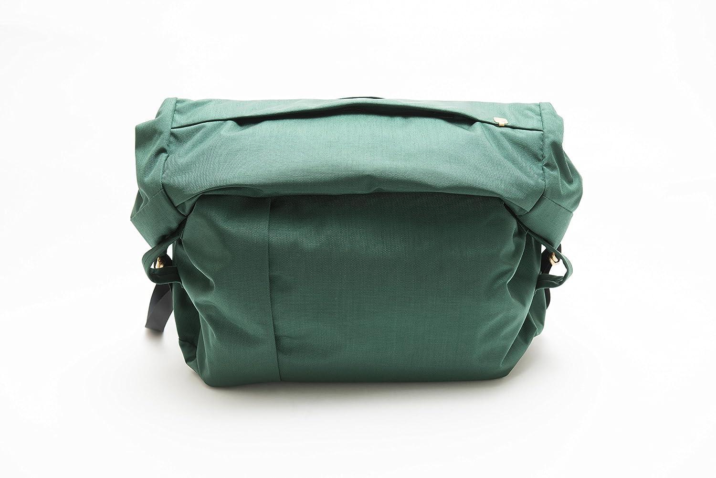 (サードアイチャクラ)The 3rd Eye Chakra The Field Bag #001 Large Green fb001-l-gr B06Y1HMW2C