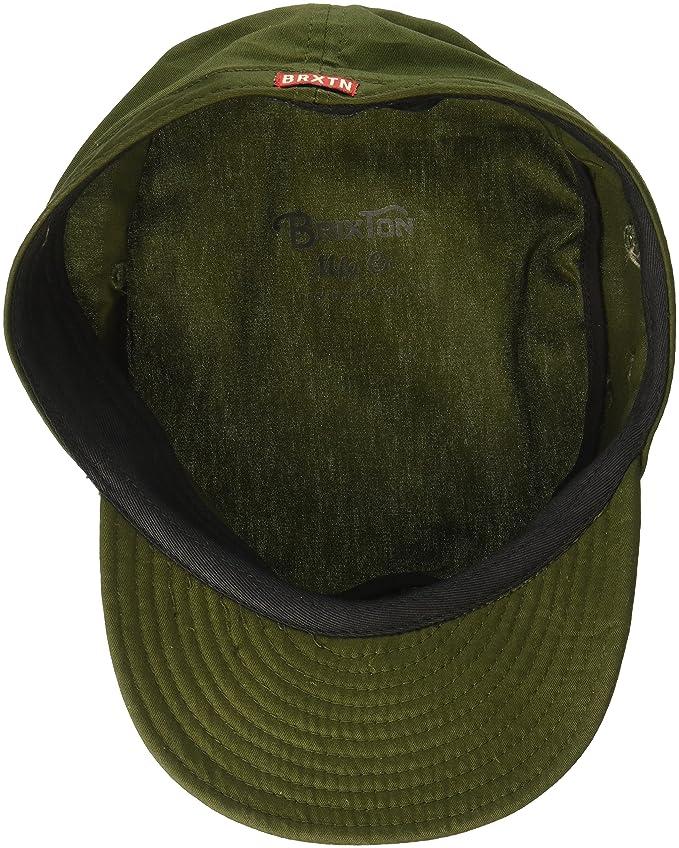 1c4ae5f9c02dc Amazon.com  Brixton Men s Brigade Unstructured Military Style Hat  Clothing