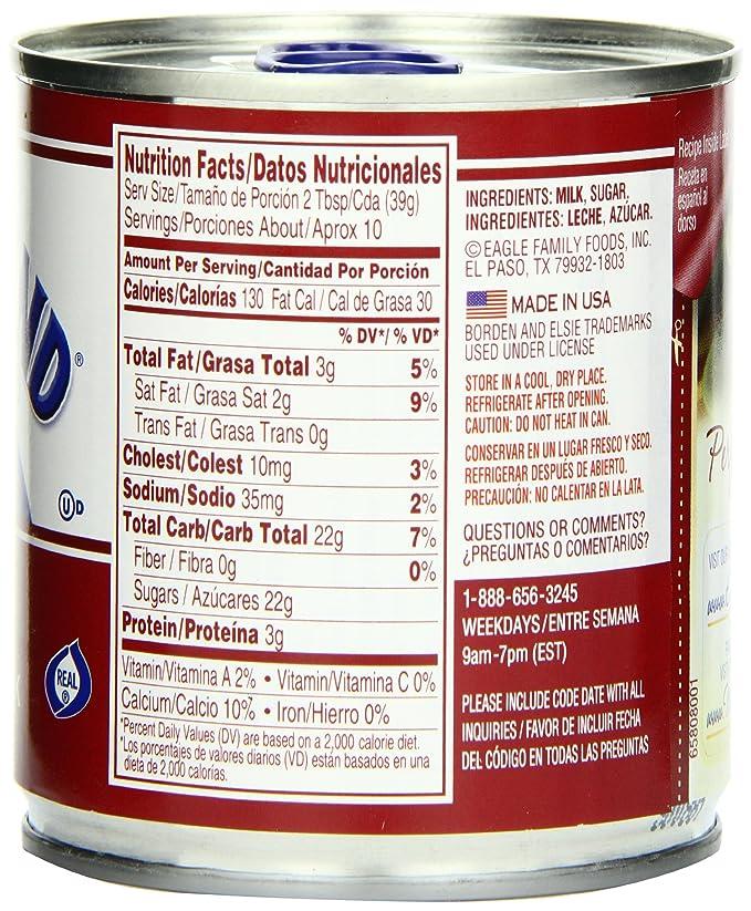 Eagle Brand Sweetened Condensed Milk, 14 oz.: Amazon.es: Alimentación y bebidas