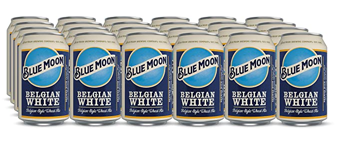 Blue Moon American Craft Wheat Beer 24 X 330ml Cans-Best-Popular-Product
