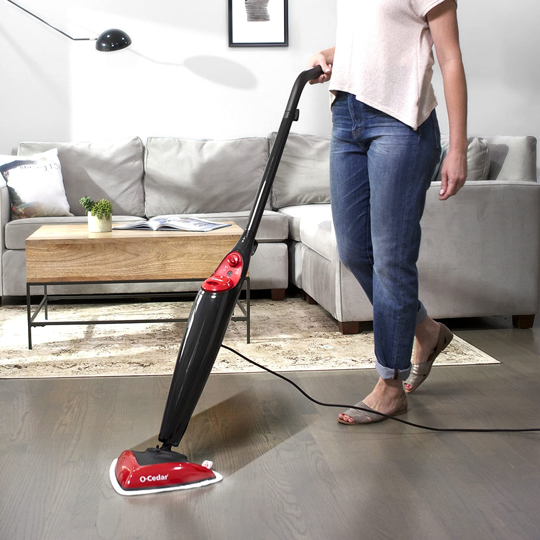 O-Cedar Microfiber Steam Mop