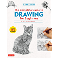 The Complete Guide to Drawing for Beginners: 21 Step-by-Step Lessons - Over 450 illustrations! (English Edition)
