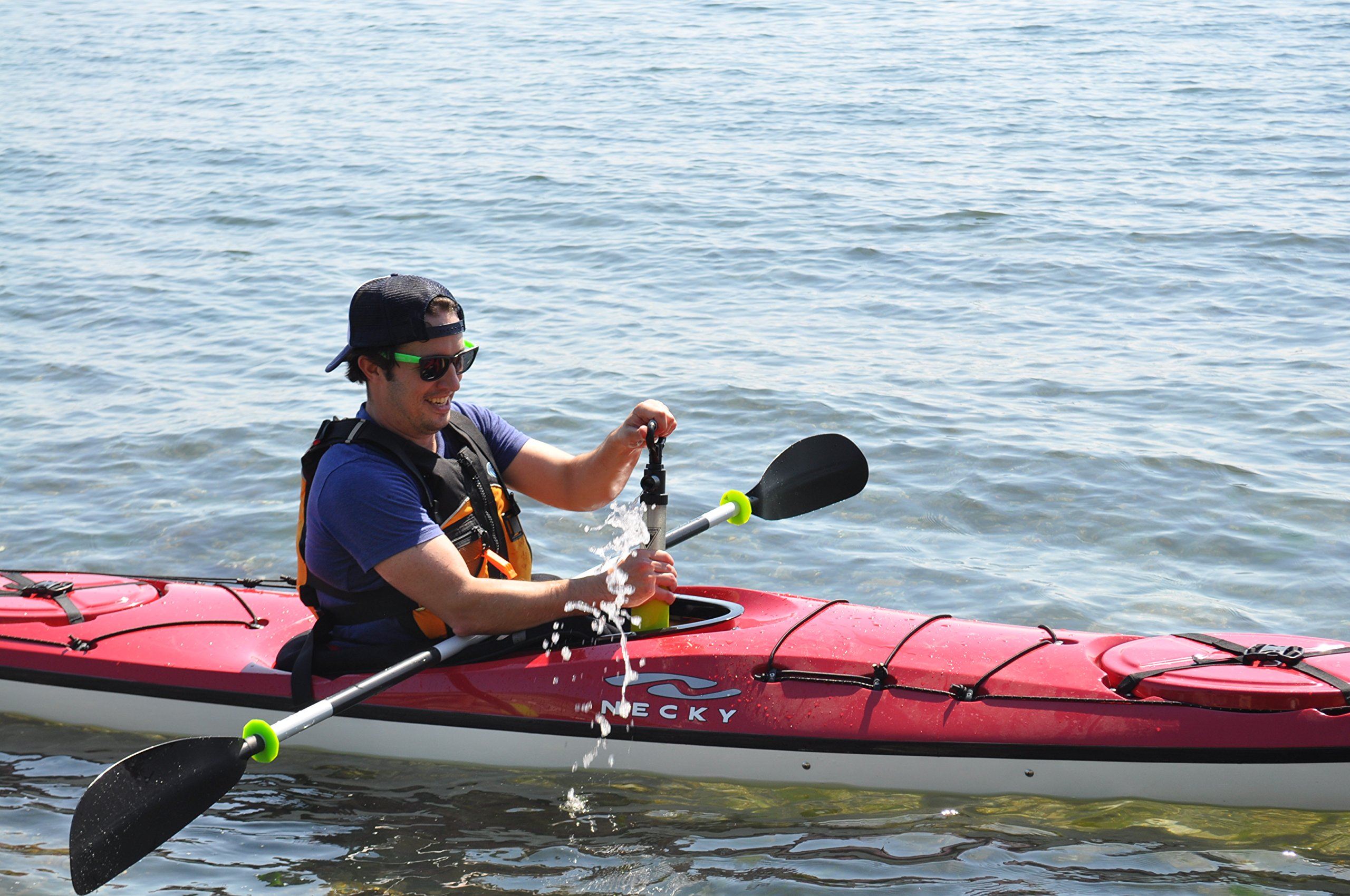 Seattle Sports Breakaway Bilge Pump - Modular Bilge Pump - Easy to Clean - Replaceable Parts - Kayak/Canoe/Boat by Seattle Sports (Image #3)