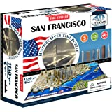 4D Cityscape San Francisco USA Puzzle