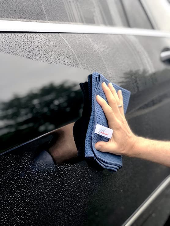 Amazon.com: ALCLEAR 820901 Ultra-microfiber Cloth Dry Wonder after Car Wash. Navy. Size: 23.62 x 15.75 in.: Automotive