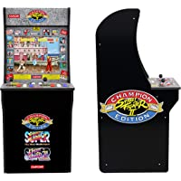 Arcade1Up Street Fighter - Classic 3-in-1 Home Arcade, 4Ft - Not Machine Specific