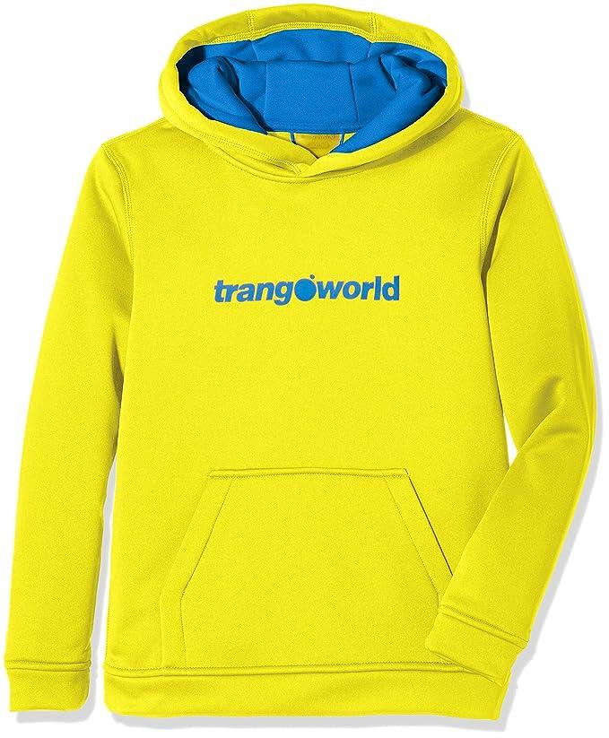 Trangoworld Kura Sudadera, Unisex niños, Amarillo/Azul Imperial, 12: Amazon.es: Deportes y aire libre