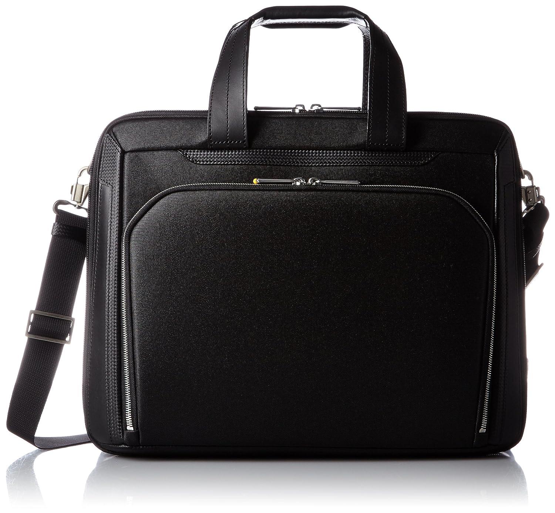 [エースジーン] ビジネスバッグ デュラテクト A4 2気室 エキスパンド機能付 30422  ブラック B01CSDL8ES