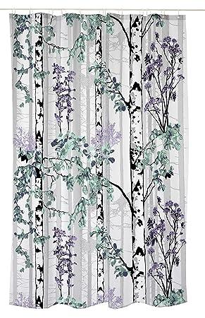 Vallila Luontopolku Shower Curtain 180 X 200 Cm Lilac