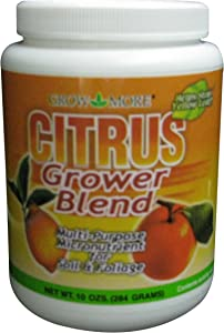 Grow More 8085 Citrus Grower Blend Fertilizer, 10-Ounce