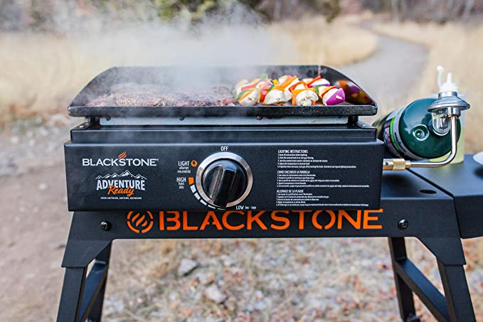 """Legs Blackstone Adventure Ready 22/"""" Griddle with Hood Adapter Hose"""