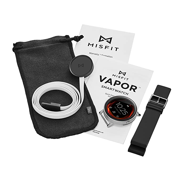 Misfit Vapor Touchscreen Smartwatch, Black: Amazon.co.uk ...