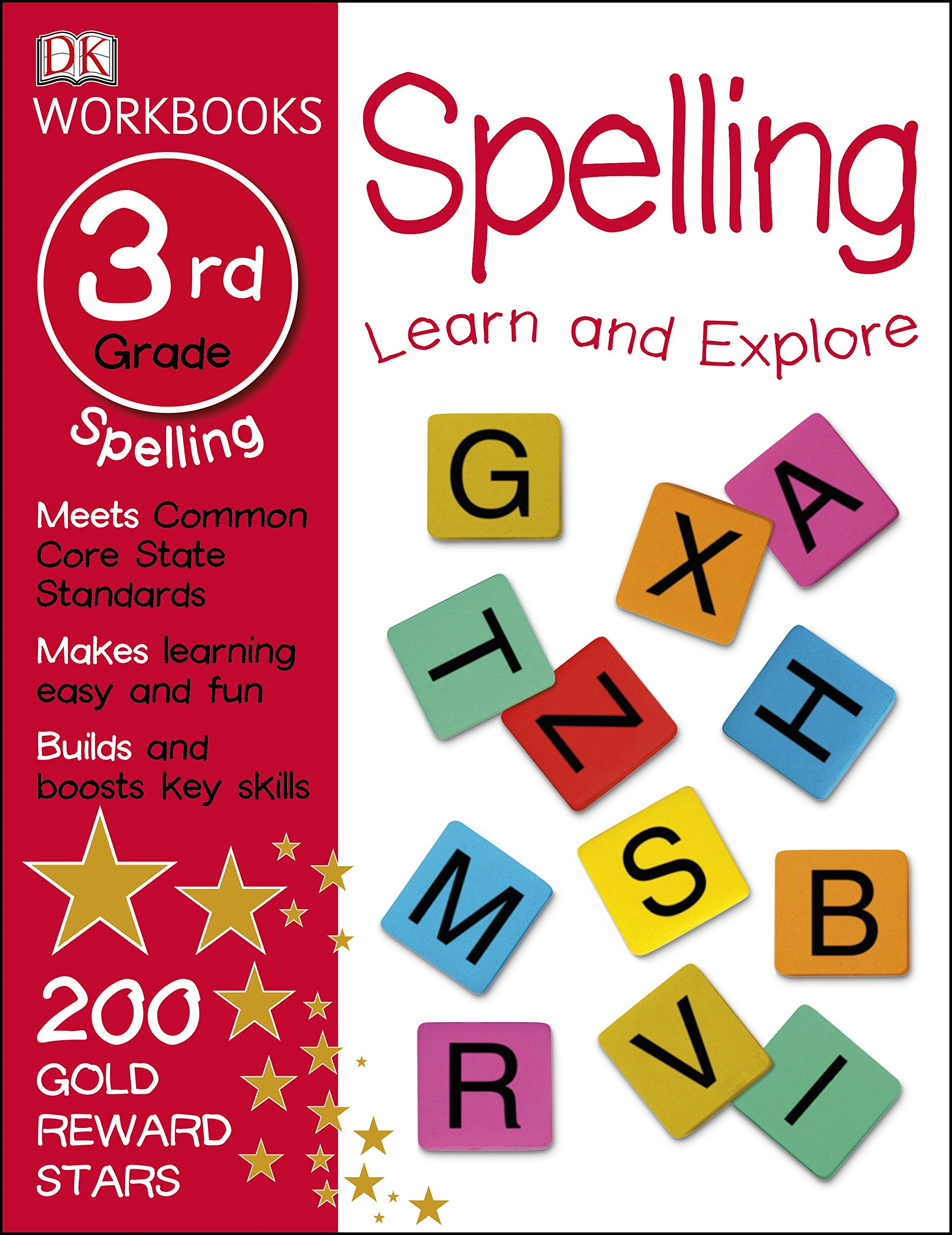 DK Workbooks: Spelling, Third Grade: DK: 9781465429131: Amazon.com ...