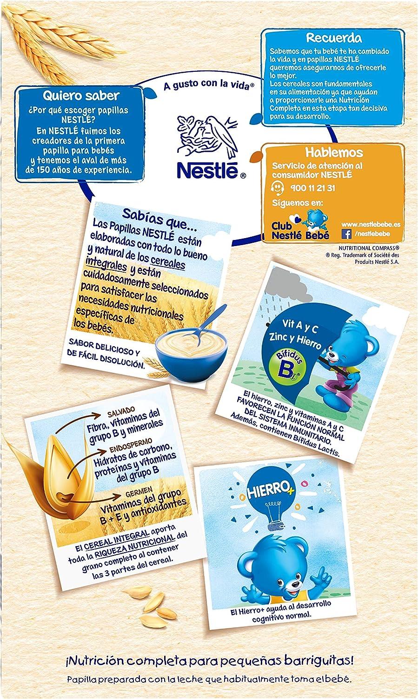 Nestlé Papillas Alimento Infantil Preparado A Base de ...