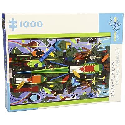 Charley Harper Monteverde 1000 Piece Jigsaw Puzzle: Charley Harper, Charley Harper: Toys & Games