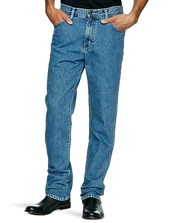 offizielle Fotos 759ae 01004 Wrangler Texas Stretch Herren Jeans, Regular Fit, Blue (STONEWASH), Gr.  W36/L30