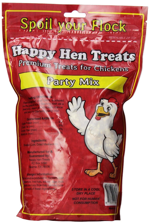 amazon com happy hen treats party mix mealworm and corn 2 pound