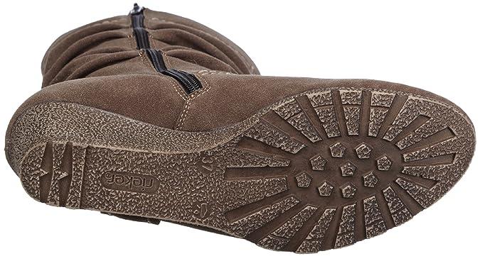 Rieker Z5980-25 Z5980-25 - Botas fashion para mujer, color marrón, talla 38