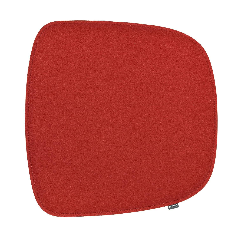 Sitzkissen für Eames Armchair Armchair Armchair 2-lagig kirschrot fba2bb