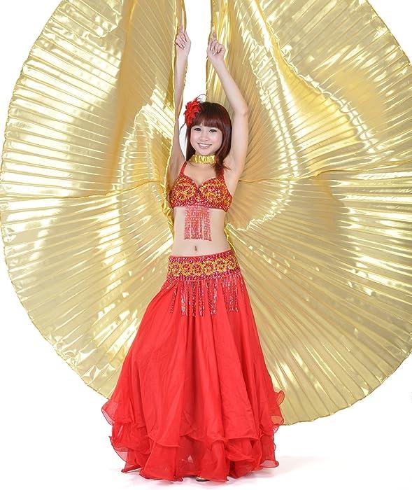 Egyptian Egypt Belly Dance Dancing Costume Isis Wings Dance Wear WingQ& Weitere Sportarten Tanzen