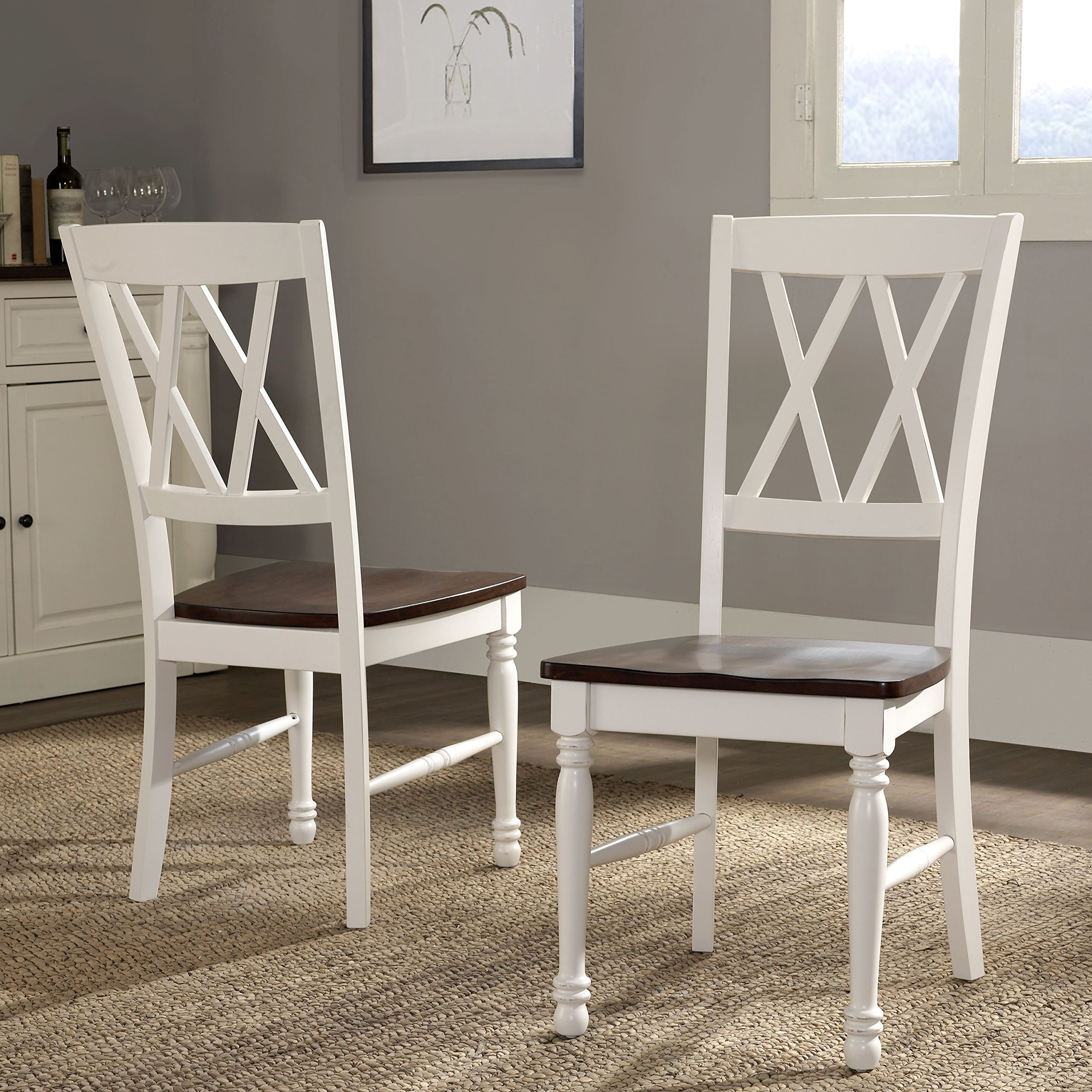 Crosley Furniture CF501018-WH Shelby Dining Chairs (Set of 2), White by Crosley Furniture (Image #8)