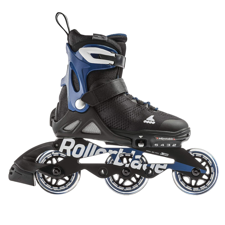Amazon.com   Rollerblade Microblade Alu 3WD Kid s Size Adjustable Inline  Skate bfbd53dbd1