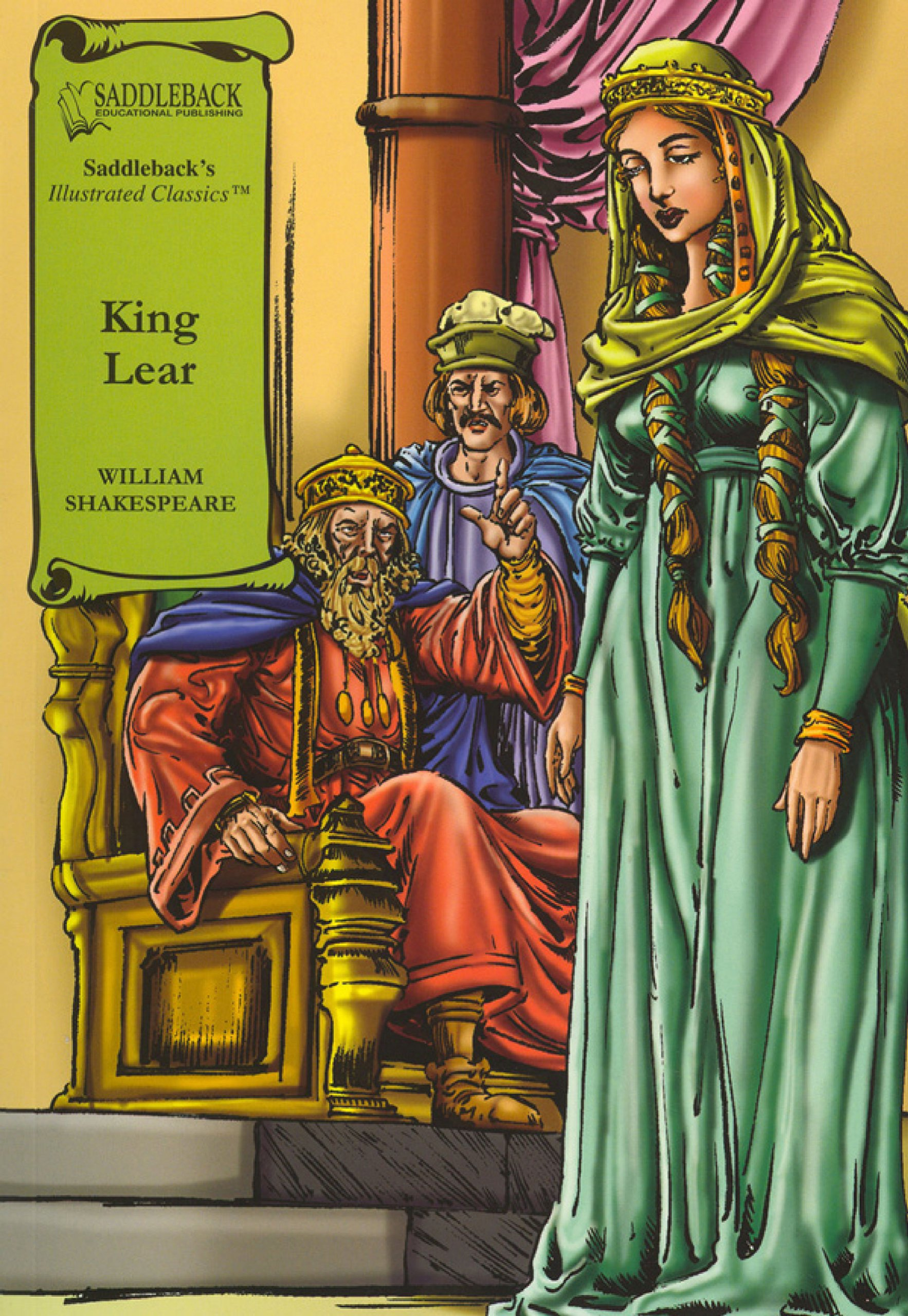King Lear- Graphic Shakespeare-Read Along (Illustrated Classics Shakespeare)