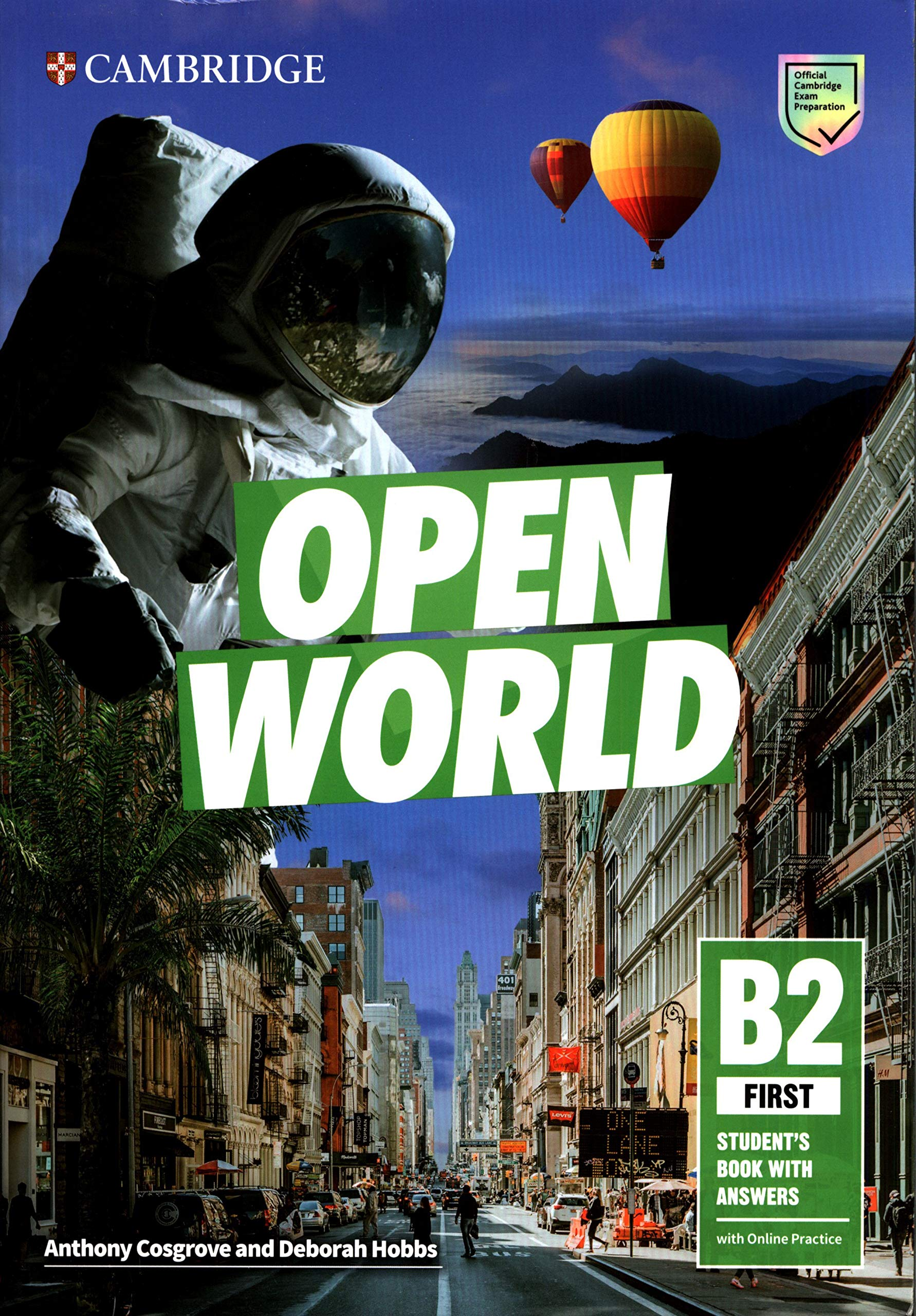 Open World First. Students Book with Answers with Online Practice: Amazon.es: Cosgrove, Anthony, Hobbs, Deborah: Libros