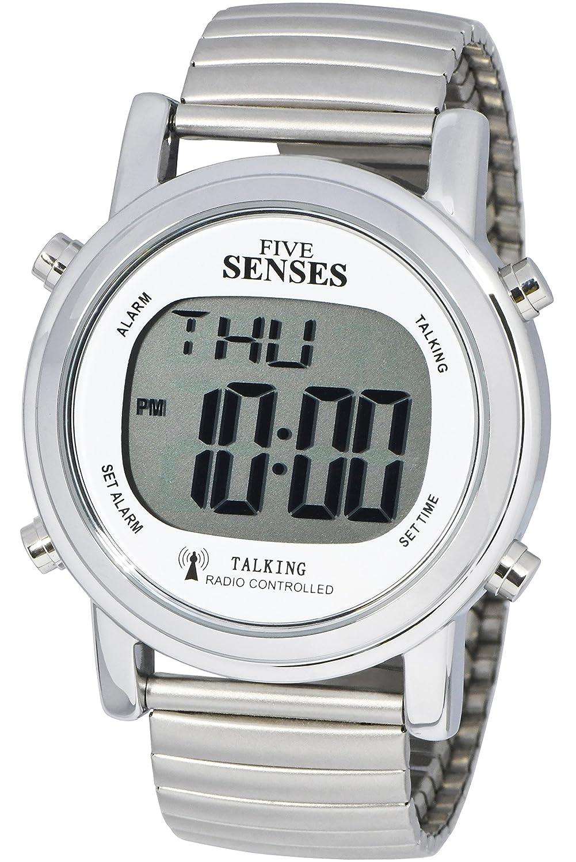 Atomic. Reloj parlante–se sentidos Metal fácil de leer reloj parlante (srtkd1–2)