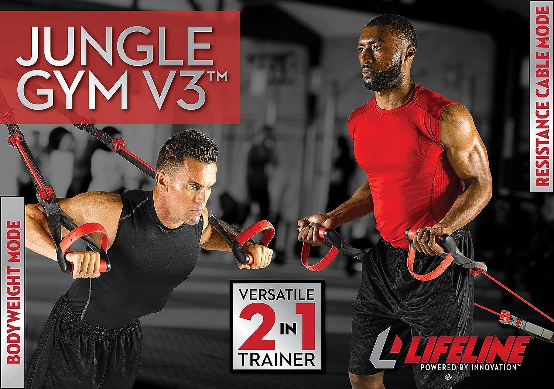 Lifeline Jungle Gym V3 - Entrenador de Cable de Resistencia ...