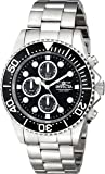 Invicta Men's 1768 Pro Diver Collection Stainless Steel Watch with Black Dial