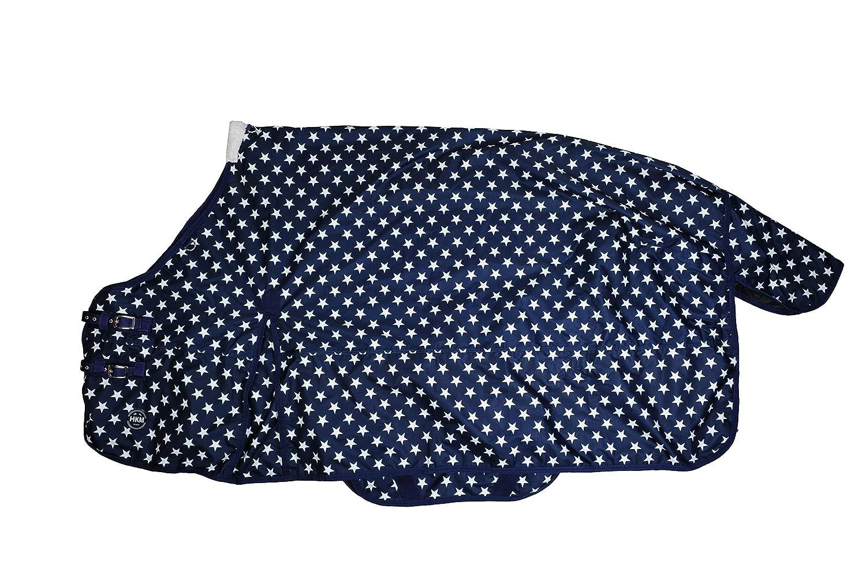 Couverdeure blu -Stars-, 300g d'ouate - 165 cm
