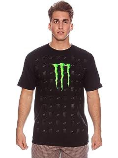 Monster Tech3 Maglietta da Uomo, Colore: VerdeNero Taglia M