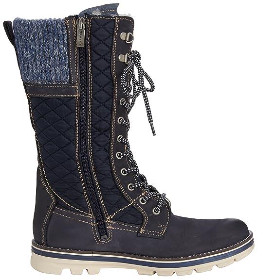 Tamaris 26247, Women's Warm Lined Combat Boots Half Length, Blue - Blau (Navy  Comb 890), 3.5 UK (36 EU): Amazon.co.uk: Shoes & Bags