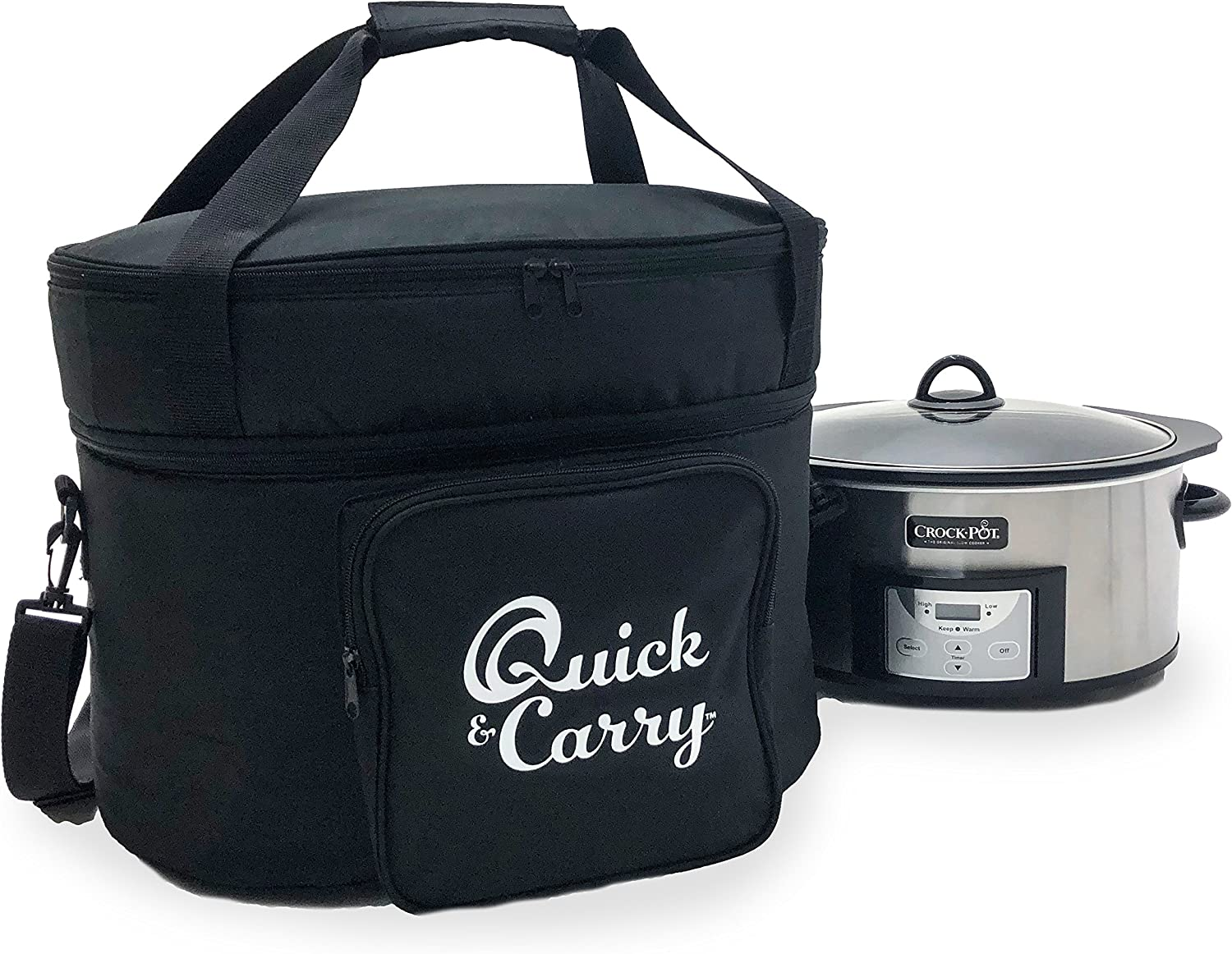 Quick & Carry, Slow Cooker Travel Tote Bag for