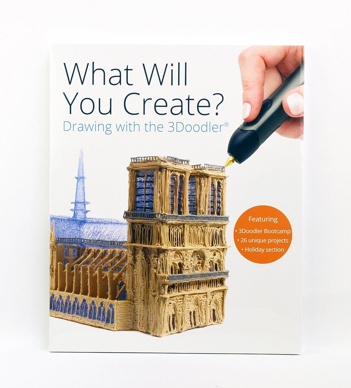 "3Doodler ""What will you create?"" libro de proyectos"