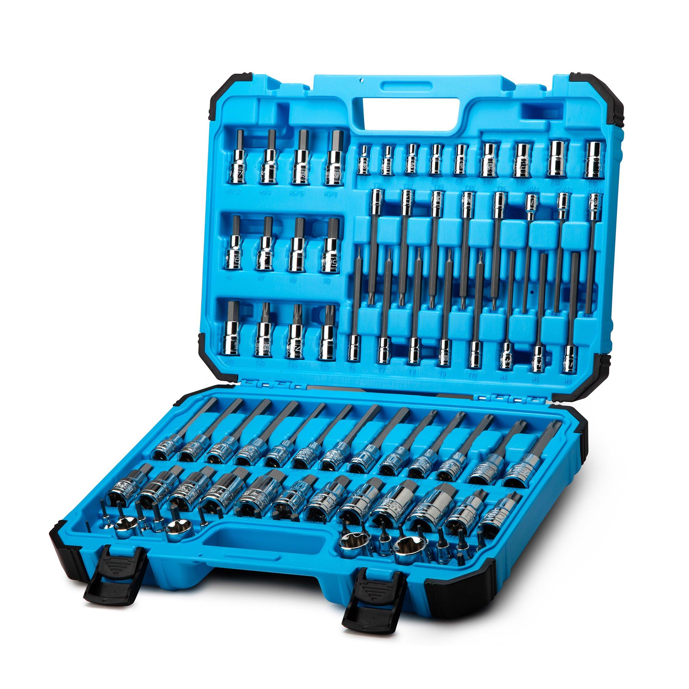 Capri Tools Master Bit Socket Set, Advanced Series, 88-Piece by Capri Tools