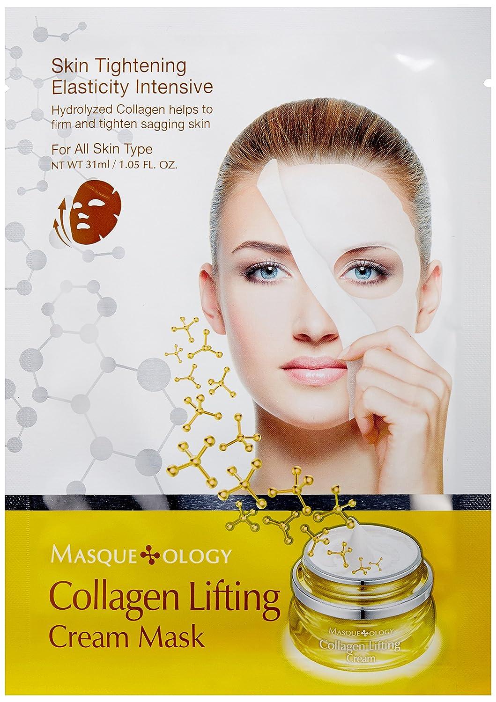 Amazon Masqueology Collagen Lifting Cream Mask 105 Fl Oz
