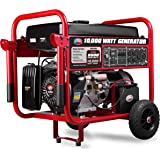 All Power America APGG10000, 10000W Watt Generator with Electric Start, Portable Gas Generator for Home Use Emergency…