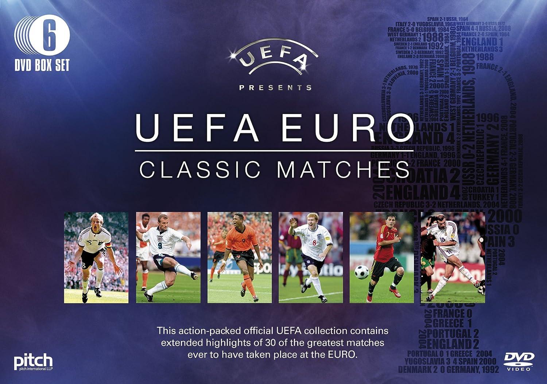 UEFA EURO Classic Matches (6 DVD Gift Set): Amazon.co.uk: DVD & Blu-ray