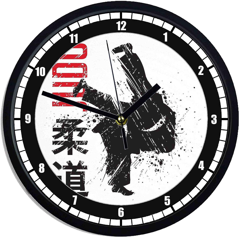 Orologio da parete in plastica Judo