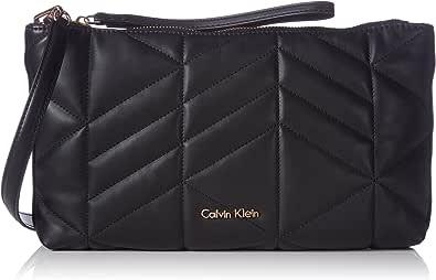 Calvin Klein Nora Quilted Clutch - Cartera de Mano Mujer
