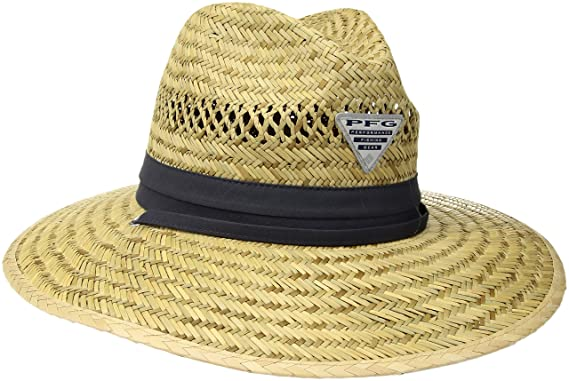 e9d18bf0fc9f23 Columbia Men's Wrangle Mountain Hat, Straw/Nightshade PFG S at ...