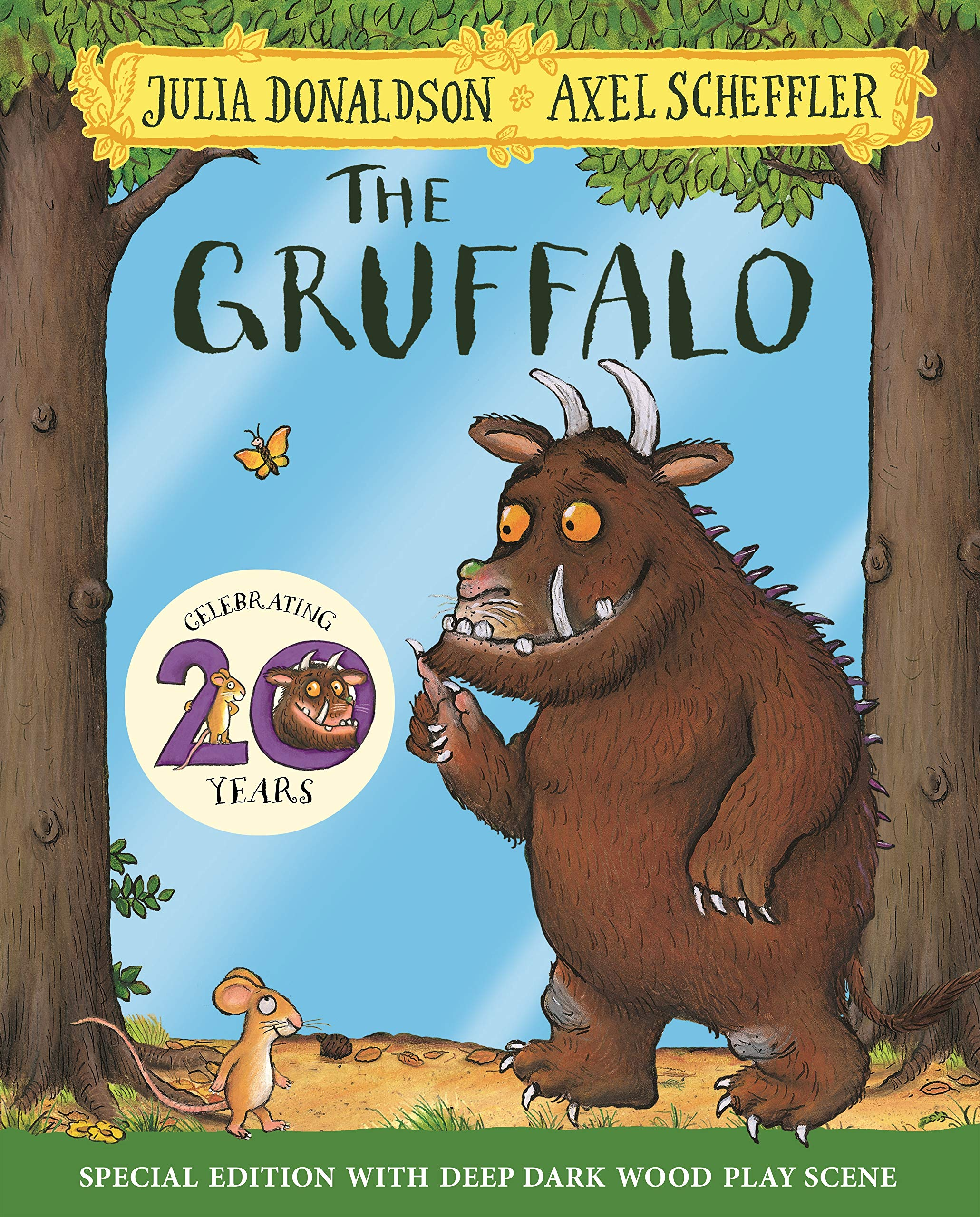 Donaldson, J: Gruffalo 20th Anniversary Edition The Gruffalo: Amazon.es: Donaldson, Julia, Scheffler, Axel: Libros en idiomas extranjeros