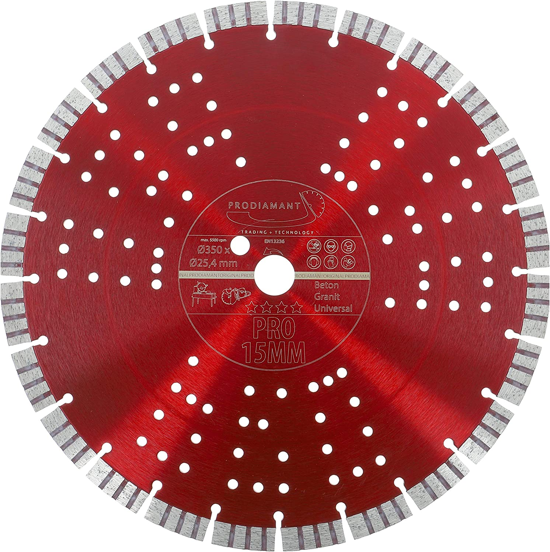 PDX833.800 rojo 20 PRODIAMANT Disco de corte diamante premium hormig/ón 350