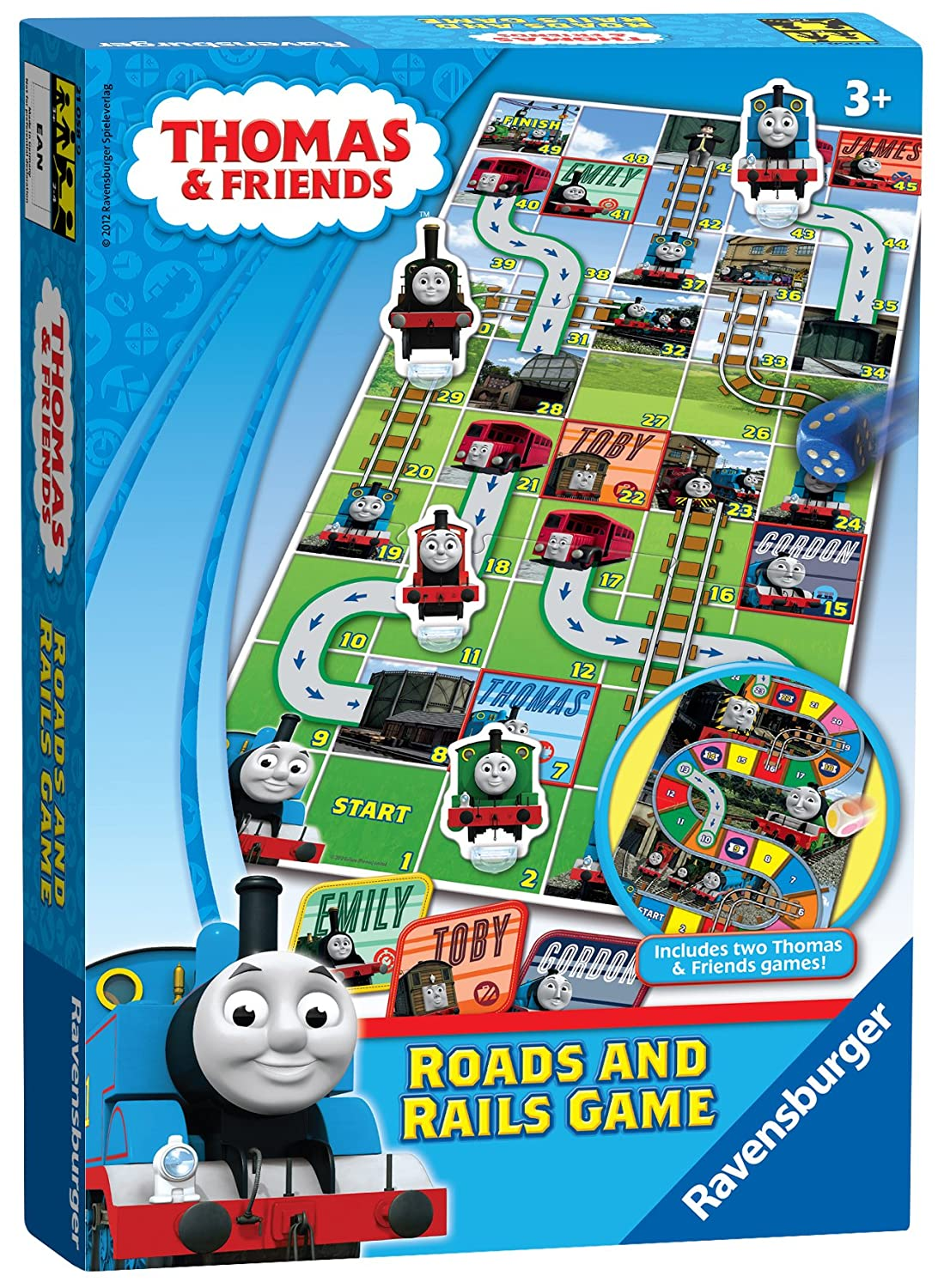Ravensburger Thomas and Friends, Roads and Rails Game