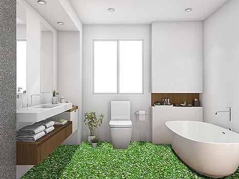 Vinilo Adhesivo 3D para Cuarto de baño, Vinilo de PVC, para ...